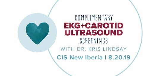 CIS New Iberia: Free EKG & Carotid Ultrasound Screenings