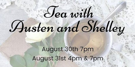Tea with Austen and Shelley tickets