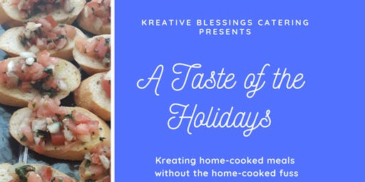 A Taste of the Holidays