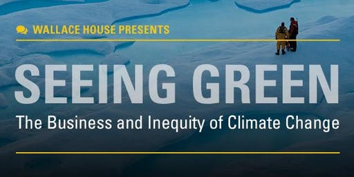 Wallace House Presents: McKenzie Funk on Climate Change