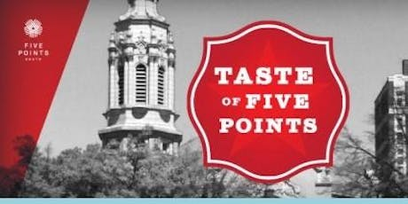 Taste of Five Points tickets