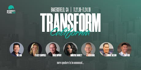 Reformer's Pledge 2019: Transform California tickets