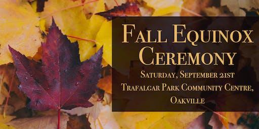 Fall Equinox Ceremony