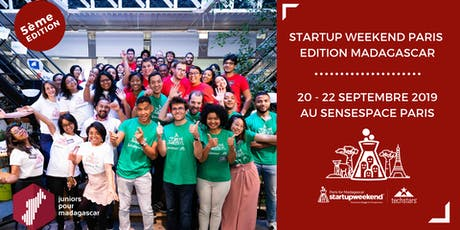Techstars Startup Weekend Paris édition Madagascar billets