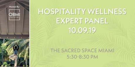 Hospitality Wellness Expert Panel tickets