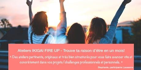 Atelier Ikigai - Trouve ta raison d'être! - NOVEMBRE- LAUSANNE - 3 ateliers billets