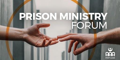 Prison Ministry Forum
