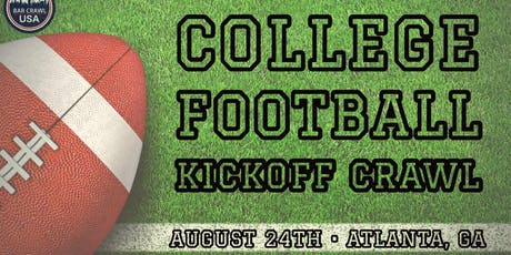 College Football Kickoff Crawl tickets