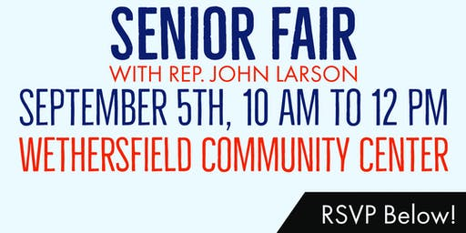 Senior Fair with Rep. John Larson