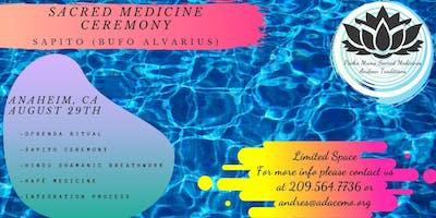 Sacred Medicine Ceremony (Sapito and Hapé)