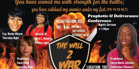 The WILL2WAR Conference tickets