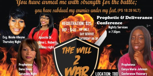 The WILL2WAR Conference