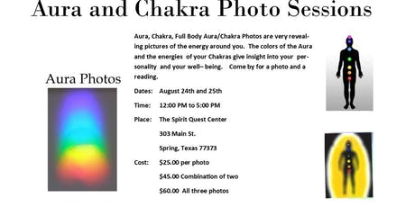 Aura Photography Sessions tickets