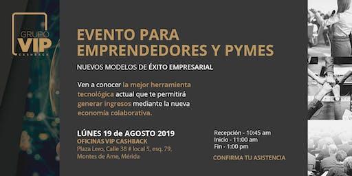 Evento para Emprendedores y Pymes
