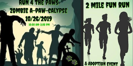 RUN 4 THE PAWS ZOMBIE A-PAW-CALYPSE tickets