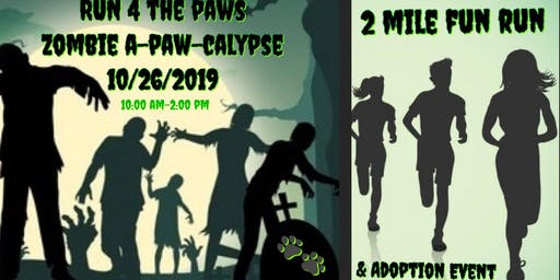 RUN 4 THE PAWS ZOMBIE A-PAW-CALYPSE