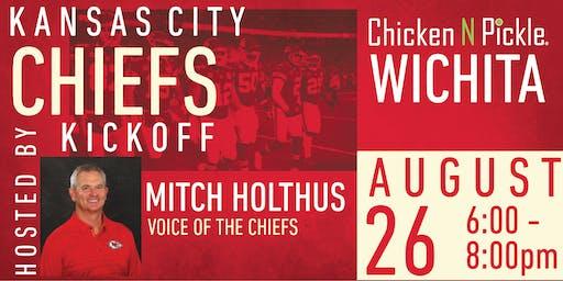KC Chiefs Kickoff at Chicken N Pickle - Wichita