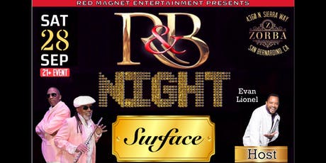 Old School R&B Night with SURFACE tickets