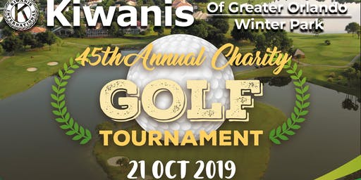 Kiwanis Greater Orlando Winter Park Charity Golf Tournament October 21 2019