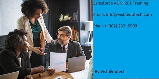 Salesforce ADM 201 Certification Training in Lafayette, IN.