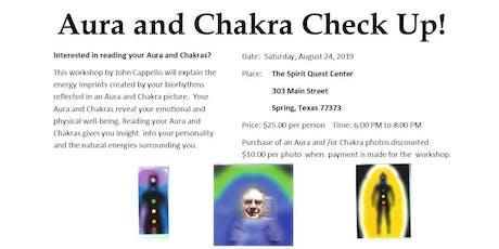 Aura/Chakra Workshop tickets