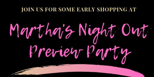 Martha's Night Out 2019