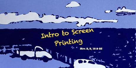 Introduction to Screen Printing tickets