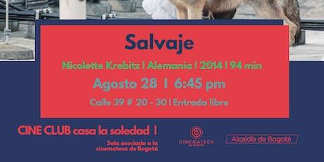 Cine Club V.12  Salvaje tickets