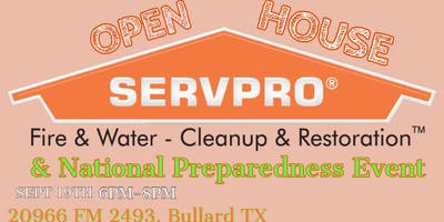 SERVPRO Open House & National Preparedness Event