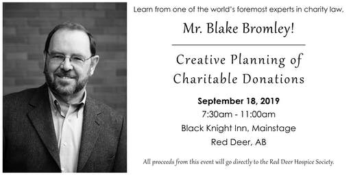 Creative Planning of Charitable Donations
