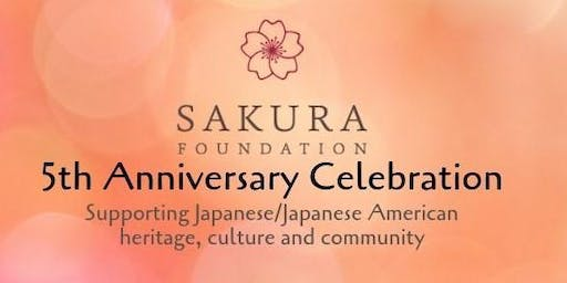 Sakura Foundation's 5th Anniversary Celebration