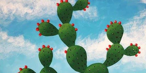 El Nopal/Cactus Painting Class