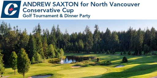 Andrew Saxton Conservative Cup: Golf Tournament & Dinner Party