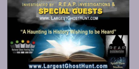 2019 Celebrate National Ghost Hunting Day at the Lord Baltimore Hotel tickets