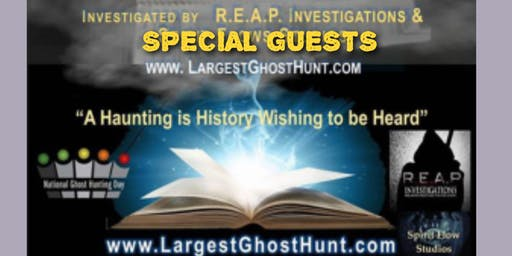 2019 Celebrate National Ghost Hunting Day at the Lord Baltimore Hotel