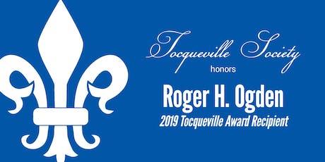 Alexis de Tocqueville Gala honoring Roger H. Ogden tickets