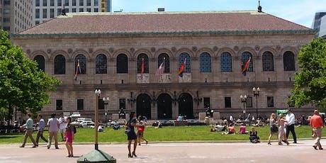 SLA New England | Boston Public Library Tour  tickets
