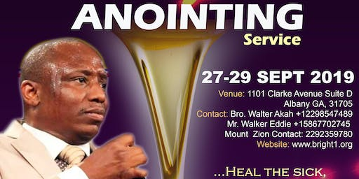 Prayer, Deliverance and Anointing Service