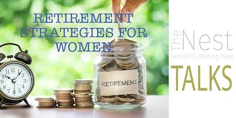Retirement Strategies for Women tickets