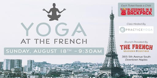 Brunch and Burn: Yoga at The French