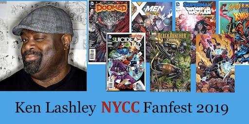 Ken Lashley NYCC Fanfest 2019
