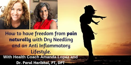 Freedom from Pain Naturally tickets