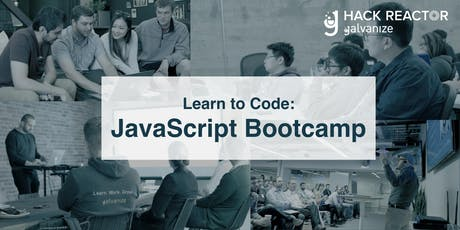 JavaScript Bootcamp for Beginners tickets