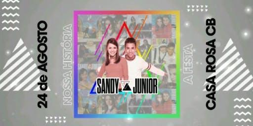 """""""Nossa História - A Festa""""  Especial Sandy e Junior"""