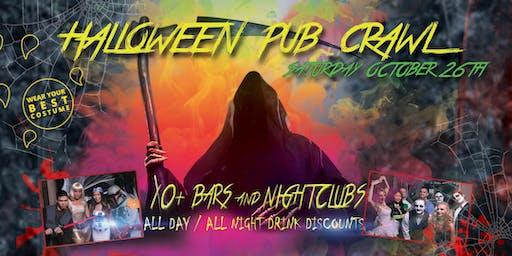 PACIFIC BEACH HALLOWEEN PUB CRAWL - Saturday, Oct 26th
