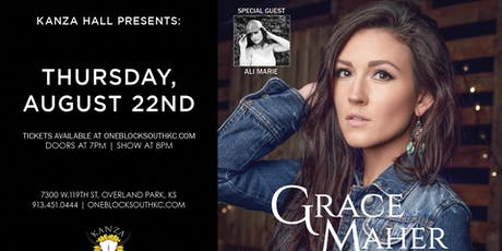 Grace Maher with Special Guest Ali Marie tickets