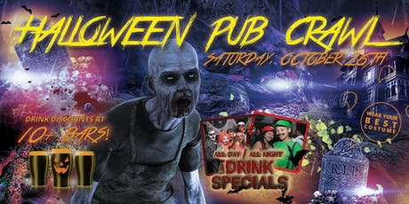 SAN DIEGO HALLOWEEN PUB CRAWL - Saturday, Oct 26th tickets