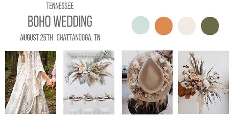 WANDERMOORE - BOHO WEDDING STYLED SESSION - CHATTANOOGA, TN tickets
