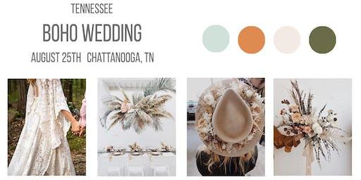 WANDERMOORE - BOHO WEDDING STYLED SESSION - CHATTANOOGA, TN