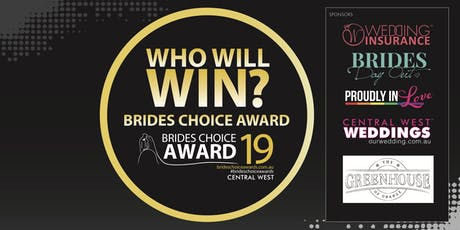 Central West Brides Choice Awards Gala Cocktail Party 2019 tickets